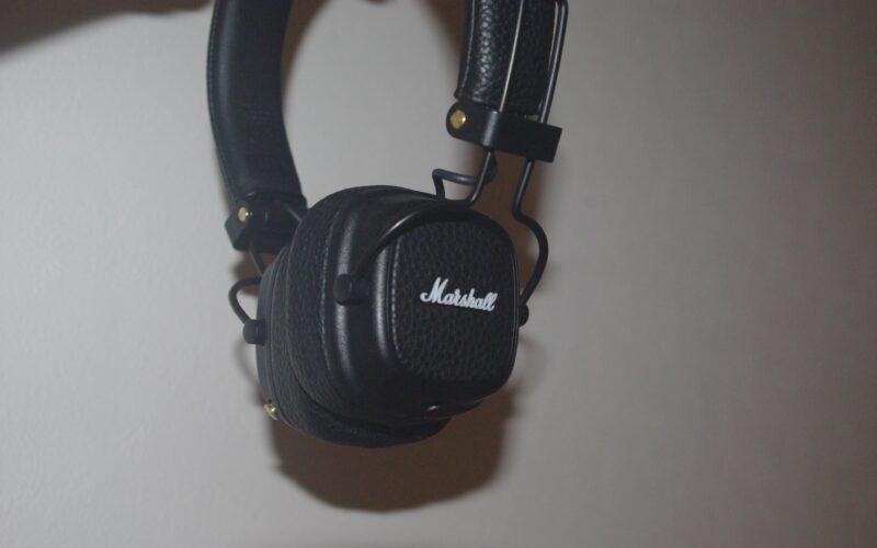 Marshall MAJOR III Bluetoothヘッドホンの本体
