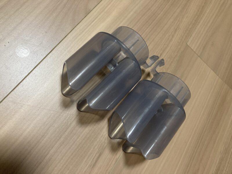 アイリスオーヤマ FK-W1-WP カラリエ ツインノズルふとん乾燥機のノズル