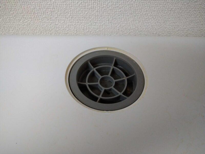 シロカ SS-M151食器洗い乾燥機の排水口