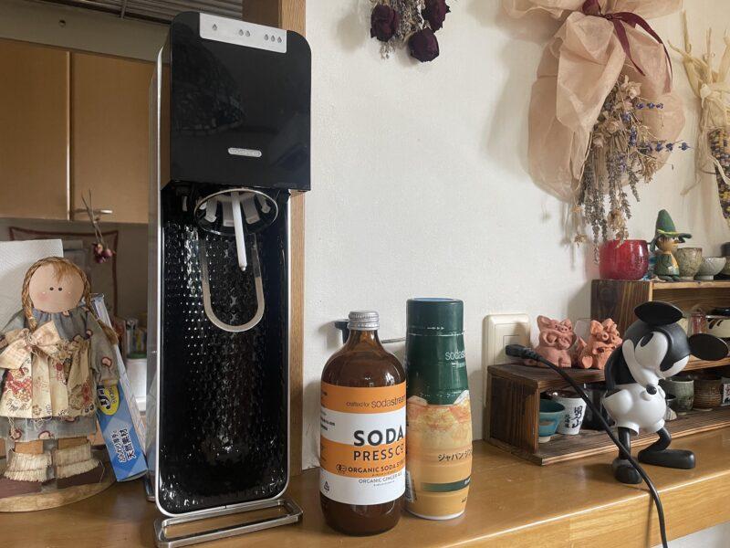 ソーダストリーム source power スターターセットソーダメーカーと使用できる飲料水