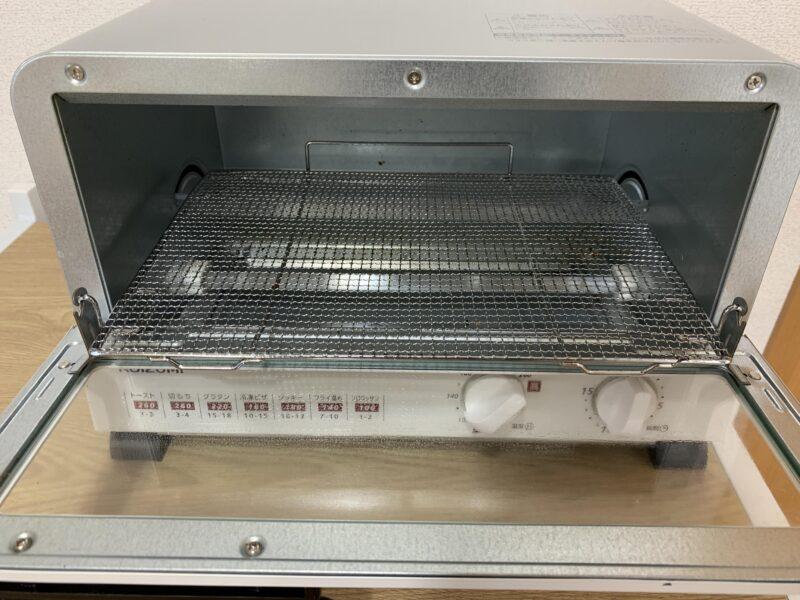 コイズミ KOS1204オーブントースターの内部