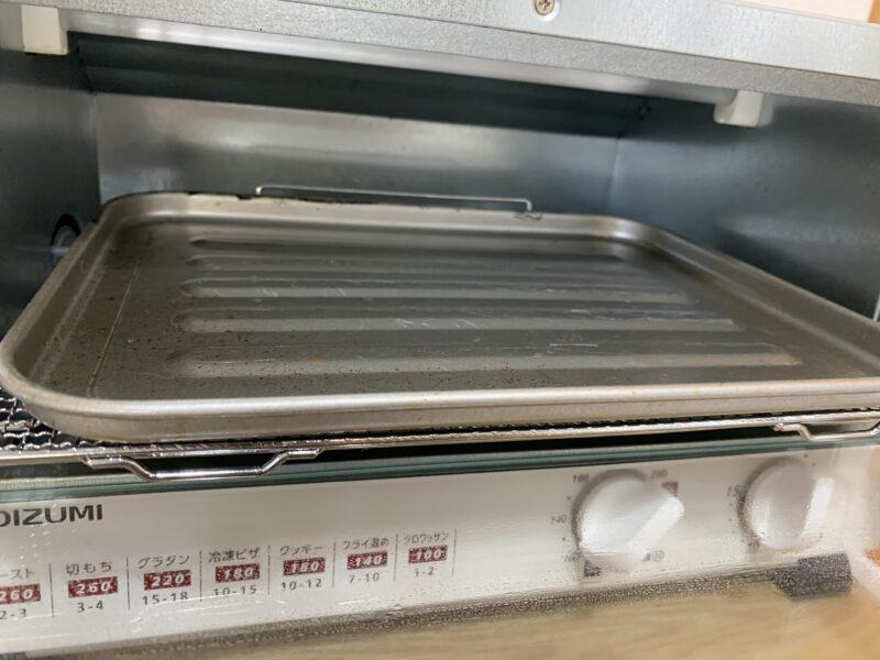 コイズミ KOS1204オーブントースターのトレー