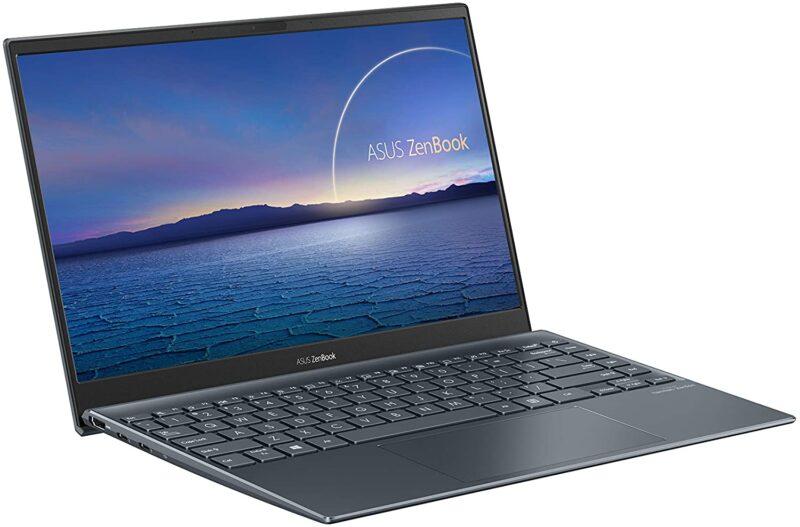 ASUS ZenBook 13 UX325EAノートパソコンのスクリーン